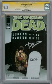 Walking Dead #109 CGC 9.8 Signature Series Signed Robert Kirkman Glenn Grave